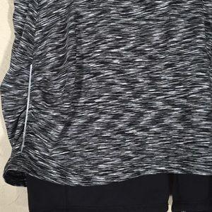 Athleta Shorts - Athleta skort gray heathered sz. L